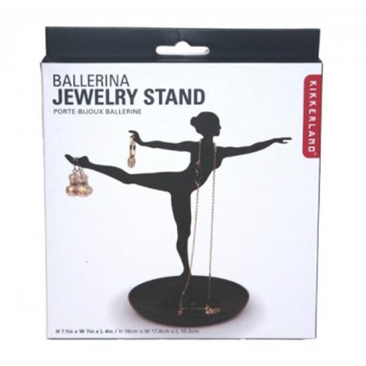 Soporte para joyas con forma de bailarina
