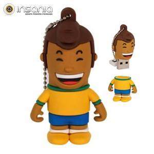 Tribe Pen Drive Futebol Brasil Neymar 4GB