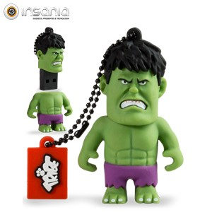 Tribe Pen Drive Marvel Hulk 8GB