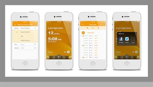 Bee: medidor de diabetes Bluetooth