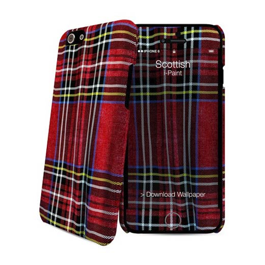 i-Paint Hard Case+Skin iPhone 6 Scottish