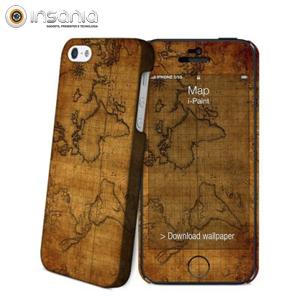 i-Paint Hard Case+Skin iPhone 6 Mapa