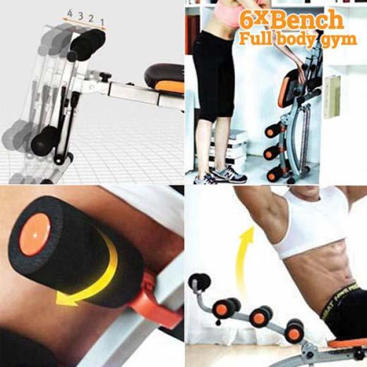 Banco de Musculação 6XBench