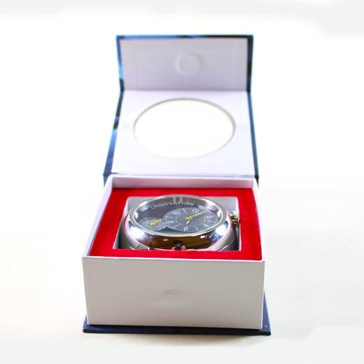 Reloj de sobremesa con cámara