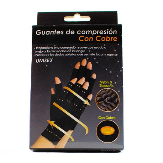 Guantes de compresión con cobre