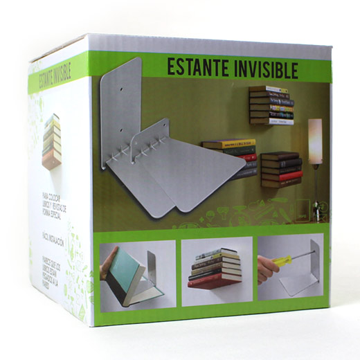 Estanterías invisibles (juego de 3)