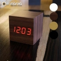 Reloj despertador Ginkgo Cube