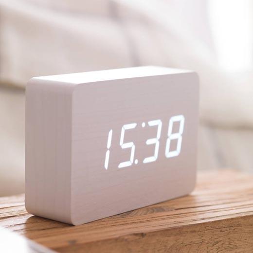 Relógio Despertador Gingko Brick