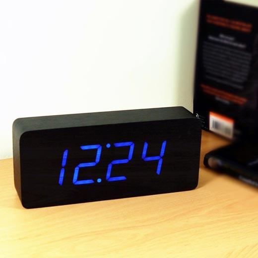 Relógio Despertador Gingko Slab