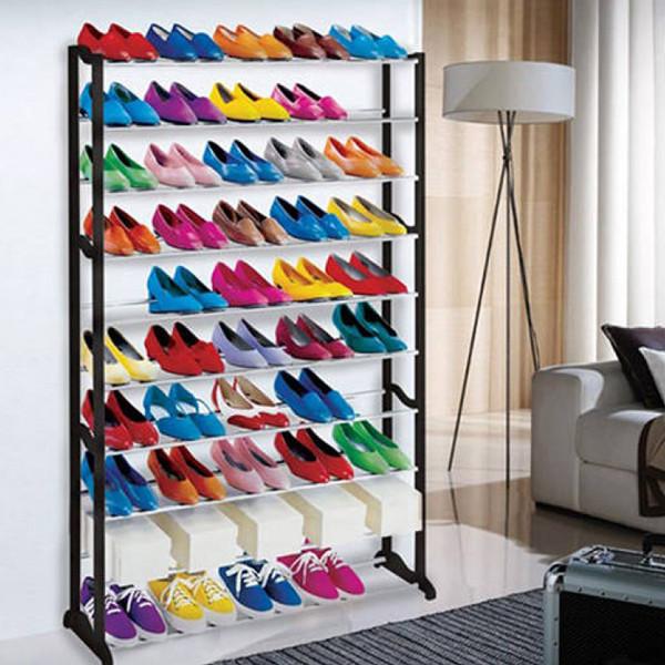 Organizador de sapatos 50 pares entregas em 24 horas - Organizador de zapatos para armario ...
