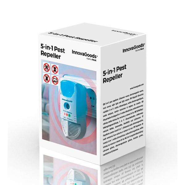 Repelente Elétrico de Insetos 5-em-1