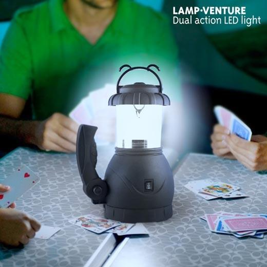 Lámpara led de camping