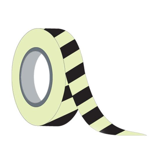 Rollo Adhesivo Amarillo y Negro