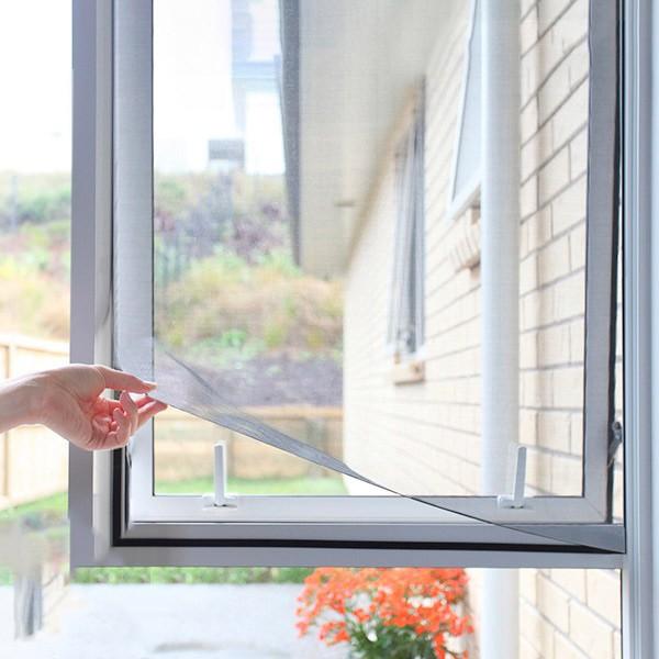 Cortina antinsectos para ventanas