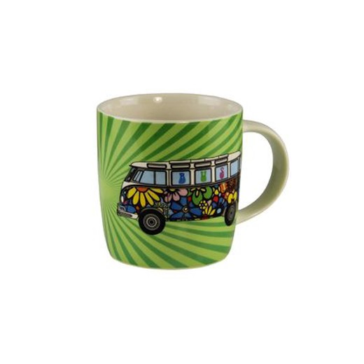 Taza de Café VW Pan de Molde Love Bus
