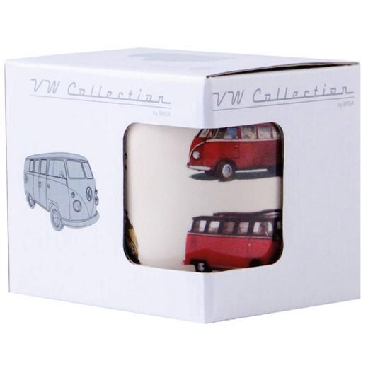 Caneca de Café VW Pão de Forma Bus Parade