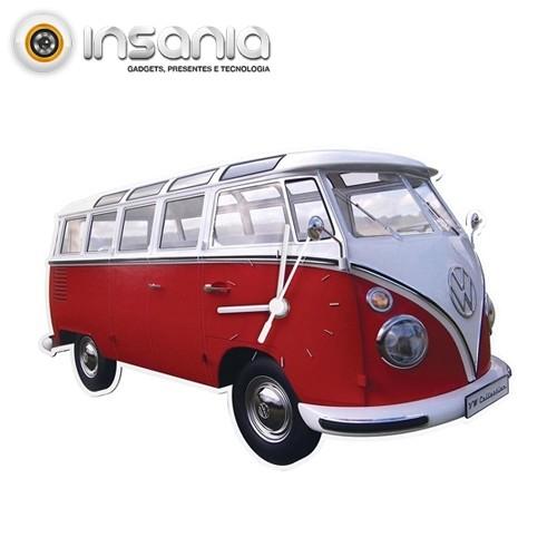 Reloj de Pared VW Pan de Molde Rojo