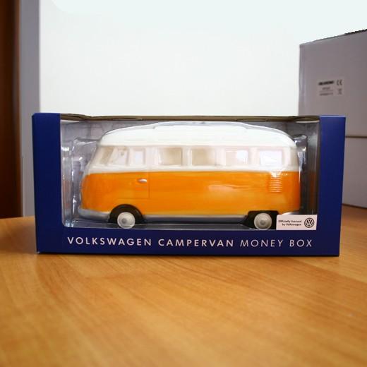 Mealheiro VW Pão de Forma Laranja