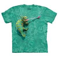 T-Shirt Face Camaleão Trepador