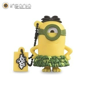 Tribe Pen Drive Minions Au Naturel 8GB