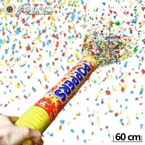Tubo de Confetes 60 cm