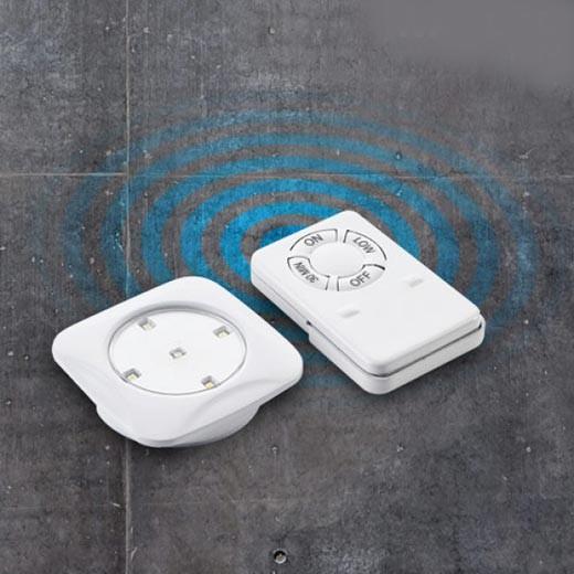 Focos LED Walled c/ Comando (Pack 6)