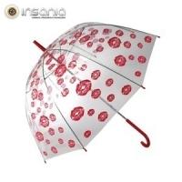 Guarda-chuva Bolha Beijos