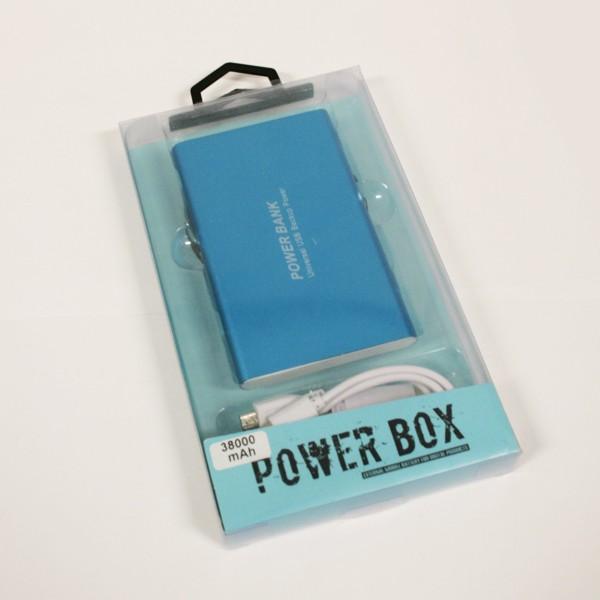 Carregador Portátil Powerbank Low Cost 38000mAh