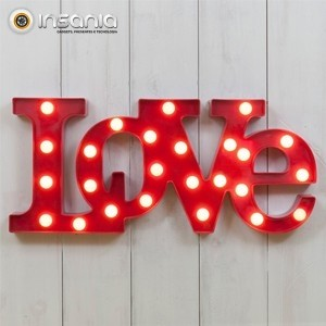 Luz Decorativa Love