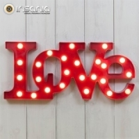 Luz Decorativa Love