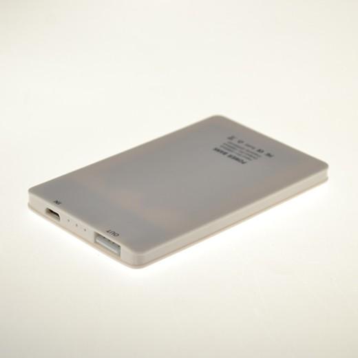 Carregador Powerbank Cartão de Crédito 1500mAh