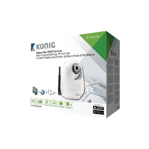 Cámara IP con Detector Movimientos Konig SAS-IPCAM110W