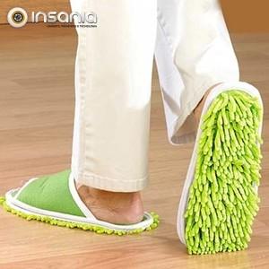 Chinelos de Limpeza Mopa X6 Clean & Go