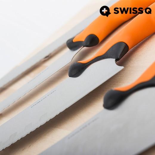 Jogo de Facas Swiss Q Ergo