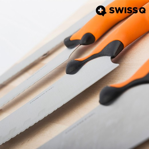 Juego de Cuchillos Swiss Q Ergo