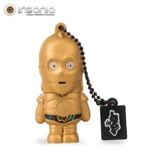 Tribe Pen Drive Star Wars C-3PO 16GB