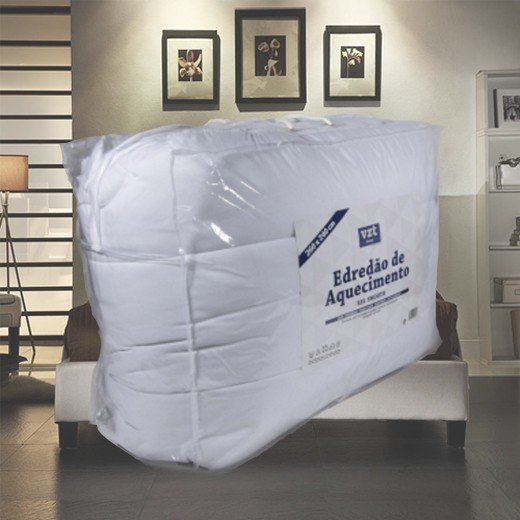Edredão Luxo Casal 260x240 cm (420g/m2)