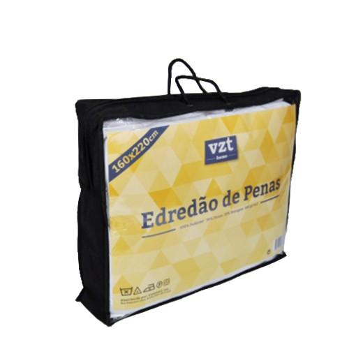 Edredão Penas Solteiro 160x220 cm (580g/m2)