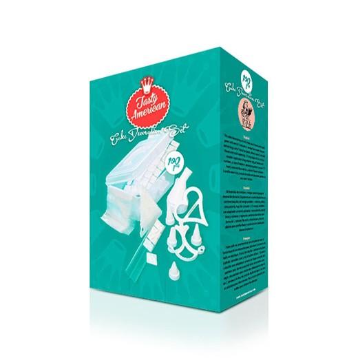 Kit de Decoração de Bolos Tasty American (100 peças)