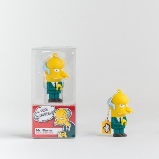 Tribe Pen Drive The Simpsons Mr. Burns 8GB