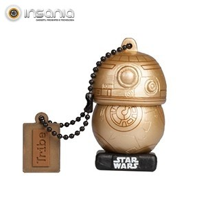 Tribe Pen Drive Star Wars Gold Edition BB-8 16GB
