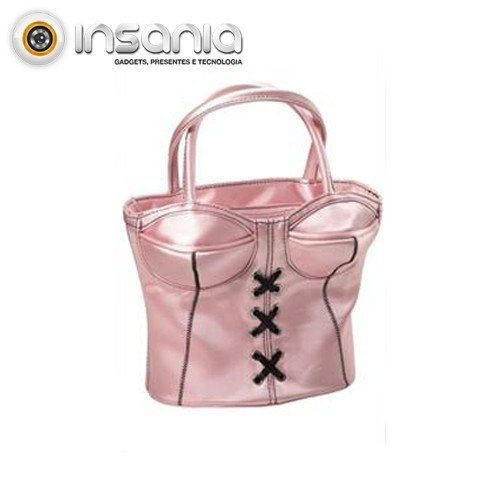 Carteira 3D Body Satin Rosa