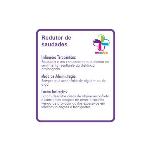 Gomas Funmácia Redutor de Saudades 170g