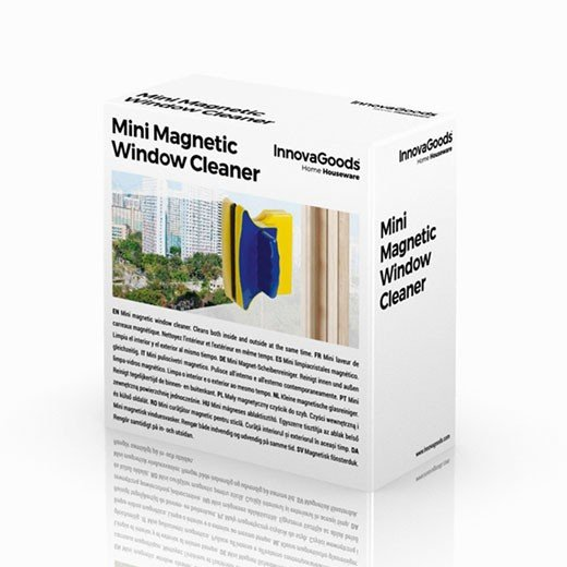 Limpiacristales Doble Magnético Magic Cleaner Mini