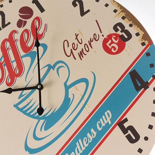Relógio de Parede Coffee Cup