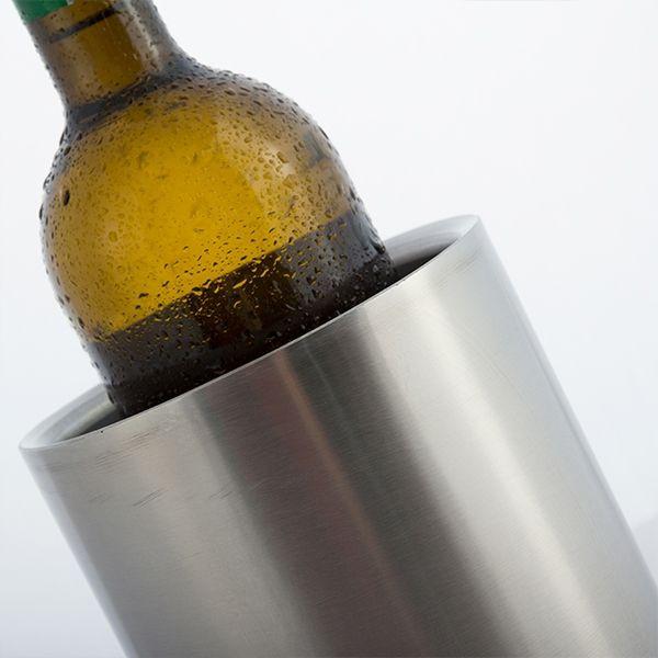 Enfriador de botellas inoxidable