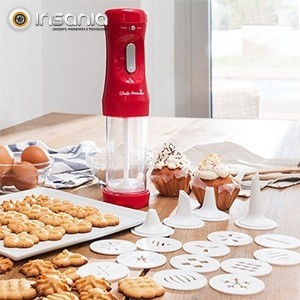 Máquina de Fazer Biscoitos e Acessórios Tasty American