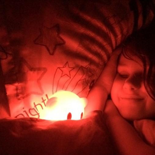 Luz de Presença Crianças Sleep Buddy Macaco Recarregável