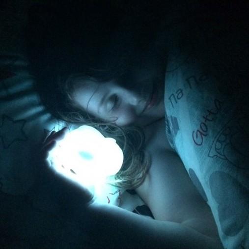 Luz de Presença Crianças Sleep Buddy Urso