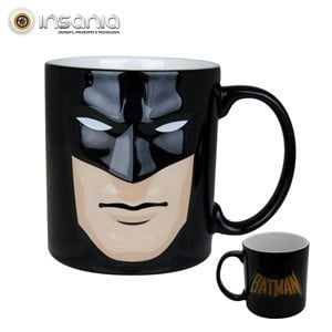 Caneca com Relevo Batman